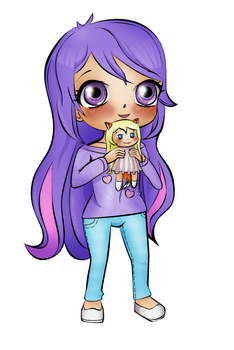 ArtTrade Daisy for HoneycombPixels by Watagashi-chan