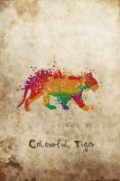 Colourful Tiger by UJz