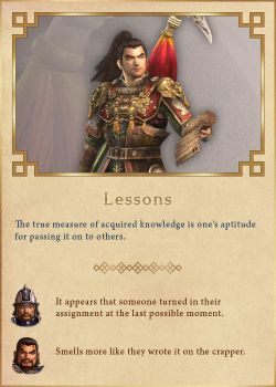 Lessons by Rydain