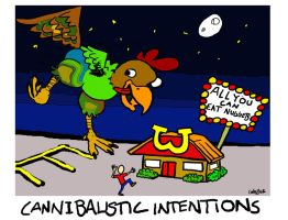 Cannibalistic Intentions! by Cortezeye
