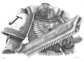 Space Marine by KateMetalHead