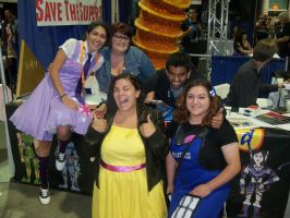 The Guild at Long Beach Comic Con by Lameasaurus-etsy
