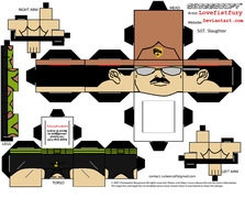GIJOE SGT Slaughter Cubee part one by lovefistfury