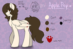 Apple Pop Ref Sheet v.2 by Kobayashi-Maruu