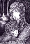 .::Harry Potter and Sirius::. by Takamin