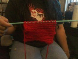 A First Time Knit by CreationsbyJolie