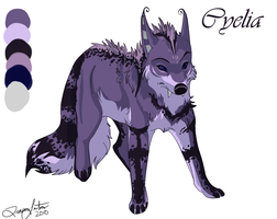 Cyelia Sheet Commission by Myuui