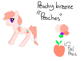 Oh no: Peaches ref by Ieafeon