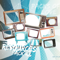 Television Png Pack by IremAkbas