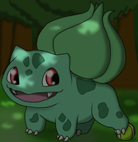 Bulbasaur's ball by DreamyNormy