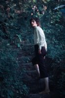 Frodo Baggins.Forest of Elves 2 by NellMcGooffin