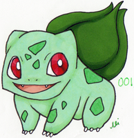 Bulbasaur by xXAluniaXx