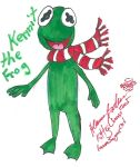 Kermit Christmas by Kittychan2005