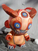 Custom demon monkey Munny 8' by missmonster