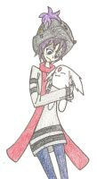 Isis and cute bunny thing by vampiricdemoncutie