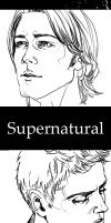 Bookmark. Supernatural by Herbst-Regen