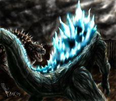 Godzilla Raids Again by Tankor89