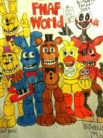 FNAF World: Asks and Dare! by WitheredFreddy1993