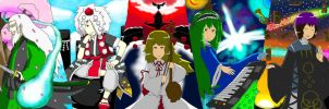 Touhou Project : Enigmatic Casts by Iormi