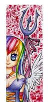 The liar - Bookmark by Frusska