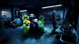 Horror Teletubbies by juuuso