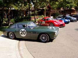 1962 Aston DB4 Lightweight by Partywave