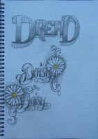 Daisy Lettering by 12KathyLees12