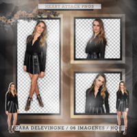 +Cara Delevingne|Pack Png by Heart-Attack-Png