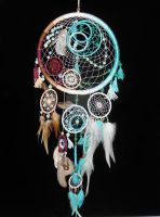 Colorful dreamcatcher by DreamerMirano