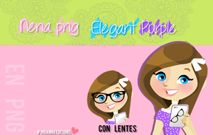 Nena Png Elegant Purple by JhoannaEditions