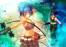 Wallpaper The Silent Soldier Leona Heidern KOFXIII by GothicYola
