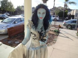 Corpse Bride costume, Halloween 2014 by therealstellla