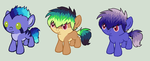 Pony Litter 5 | Open | by TinyWolfyBreeders