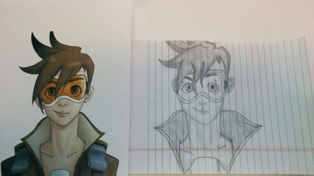 Tracer sketch by Hekotat
