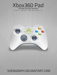 Xbox 360 Joypad Icon by Svengraph