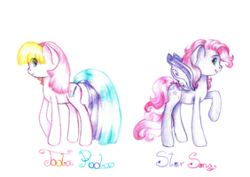 Toola Roola and Starsong by lillyflover