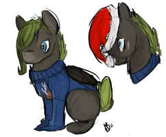 Ugly Sweater Lazy by weepysheep