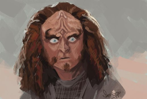Gowron by Sgt-Sahara