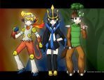 PokeSpe : Sinnoh Starters by blamedorange