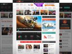 News Portal PSD by trcakir