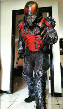 My new thunderbolts agent venom cosplay by symbiote-x