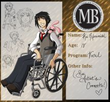 MBI Application: Kei Harumichi by MachinegunAngel