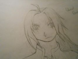 quick draw Edward Elric by wolfsmoon22