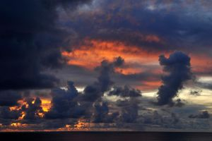 Rapa Nui sunset 2 by wildplaces