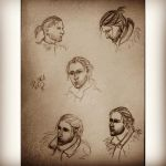 anders dragon age sketches by polinaart1
