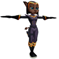 Ratchet and Clank: UYA - Sasha Phyronix by o0DemonBoy0o