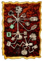 Dungeon Map 10 by GothicPrincess1974