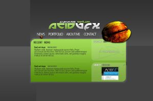 acidGFX summer portfolio by AC-1D