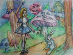 Alice in Wonderland by butchRbill