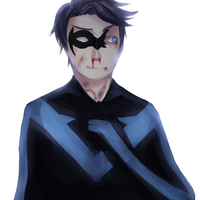 nightwing by GreenRingo